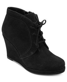 34daffac15c DV by Dolce Vita Pace Wedge Booties - Shoes - Macy s Buy Boots