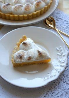 Игра со вкусом - Тарт с лимонным кремом и меренгой
