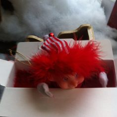 @tammyrpennington *POSTING FOR TAMMY*  Jingle Bells is about to go on a big adventure through the US Mail! Tammy forgot her yesterday so I'm packing her up and shipping her to Alvin!! Lets all hope she makes it safely!  #farmelf #usmail  #package
