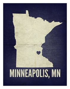 Minnesota Love. Minni- apples. City of Mary Tyler Moore and where I was born and raised..