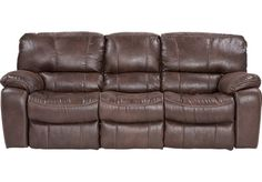 Oberson Gunsmoke Reclining Sofa With Rolled Arms Amp Nail