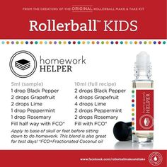 Great little rollerball blend for focus and concentration.
