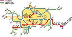 N'EX東京去回車票可使用區域