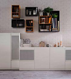 #vox  #wystrój #wnętrze #aranżacja #urządzanie #inspiracje #projektowanie #projekt #remont #pomysły #pomysł #design #room #home #meble #pokój #pokoj #dom #mieszkanie #szafa #półka #regał   #szafka      #jasne #białe #biale #skandynawskie #oryginalne #kreatywne #nowoczesne #proste Interior S, Shelving, The Unit, Loft, Cabinet, Storage, Wall, Furniture Inspiration, Design