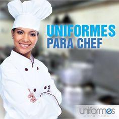 Una sonrisa acompañada de una excelente presentación a la hora de presentar el plato #UniformesparaTodo #Restaurantes #Chef #Colombia