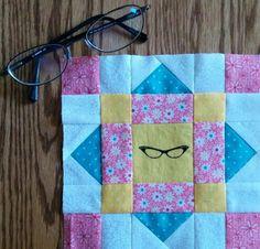 Grandma's Quilt block from farm girl Friday's quilt along.