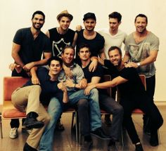 The boys of Teen Wolf at Alphacon 14
