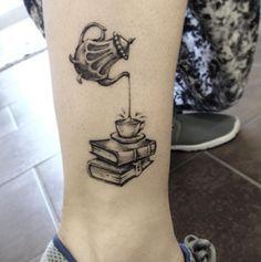 Book Tattoo by Gea M