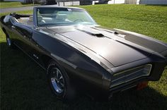 1969 RAIV GTO Convertible Production Numbers  MT: 45 AT: 14  TOTAL: 59