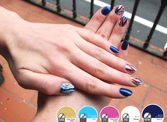 Nail art #7 ~ IKAT nails