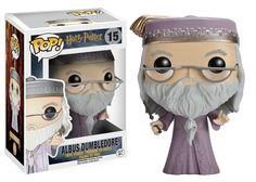 Funko POP! Harry Potter Albus Dombledore w/wand #15 Vinyl Figure