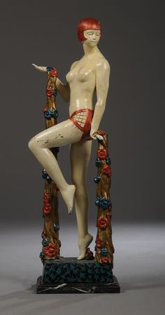 Art Deco Figurine.