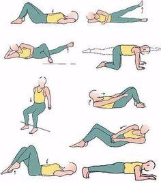 Упражнения для похудения дома. Выполняя их, вы всегда будете в форме!