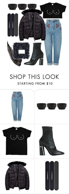 """""""It's too late"""" by juliebarbeau ❤ liked on Polyvore featuring Miss Selfridge, Stelton, 3.1 Phillip Lim and MAC Cosmetics"""
