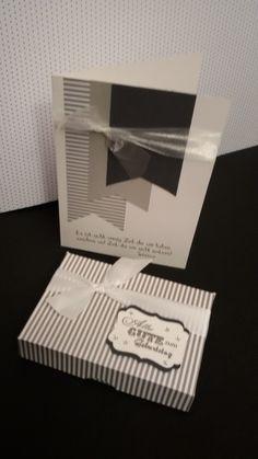 Geburtstagsset in Grau - Silber