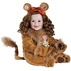 Adora Toddler Wizard of Oz Cowardly Lion 20' Boy Weighted Doll Gift Set For Children 6 Huggable Vinyl Cuddly Snuggle Soft Body Toy. Toys 4 My Kids