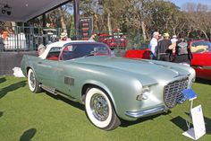 1955 Chrysler Ghia Falcon concept car at Amelia Island Concours d'Elegance 2014