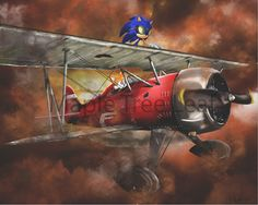 Sonic the Hedgehog Picture Only by MapleTreeLeaf on Etsy