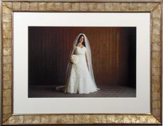Color Photo Of Bride Custom Framed And Matted Wedding Bradleyshouston Pictureframing Marriage
