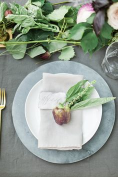 A farm to table styled shoot in Nashville, TN featuring fresh vegetables and slate.