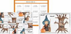 Neu eingestellt Halloween Puzzles, Montessori, Comics, School, Addition And Subtraction, Equation, Multiplication Tables, Cartoons, Comic