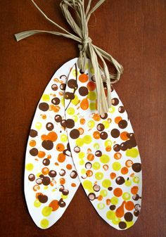 Indian Corn fall Craft for kids  and  the Five Kernels of Corn Legend