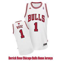 Derrick Rose Chicago Bulls Home Jerseys