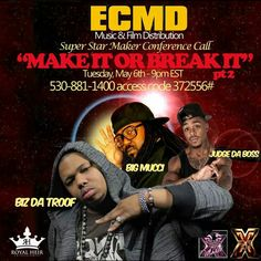 #ECMD #conferencecall #Tuesday 9:00 ET www.CodaGrooves.com