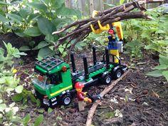 minifigureking.com #Lego Loggers hard at work.