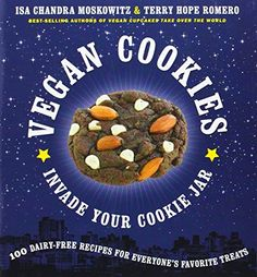 Vegan Cookies Invade Your Cookie Jar: 100 Dairy-Free Recipes for Everyone's Favorite Treats by Isa Chandra Moskowitz http://www.amazon.com/dp/160094048X/ref=cm_sw_r_pi_dp_1Ipxub1VMK8JY