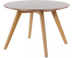 Tenzo Stolik Kawowy Lola Bess IV nogi drewniane - 9366-089-9317-054
