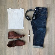 capsule wardrobe outfit formulas  #mens #fashion #style