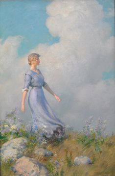 The Athenaeum - Billows (Charles Courtney Curran - No dates listed)