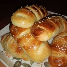 Greek Desserts, Greek Recipes, Greek Cooking, Cooking Time, Bread Dough Recipe, Jam Tarts, Breakfast Time, Easter Recipes, Sweet Bread