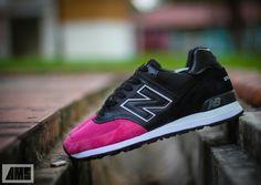 "New Balance 574 ""Pink Devil"" Customs by A. Santos"