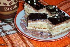 Ingrediente foi : 100 gr zahar gr oua linguri gr margarina rama(sau praf de copt Ingrediente Umplutura : 600 ml gr plicuri zahar gr rama gr zahar prafpiscot din 7 oua ( 7 oua , 7 linguri faina, 7 linguri zahar, plic praf de copt, Sweets Recipes, Yummy Treats, Tiramisu, Foodies, Cake, Ethnic Recipes, Pies, Kuchen, Tiramisu Cake