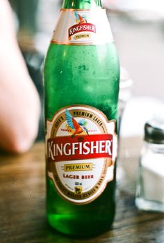 Kingfisher - You've got to love India. They introduced us to Curry, and we introduced them to Beer.  Now they export great tasting lagers like Kingfisher, Cobra and Mongoose back to us