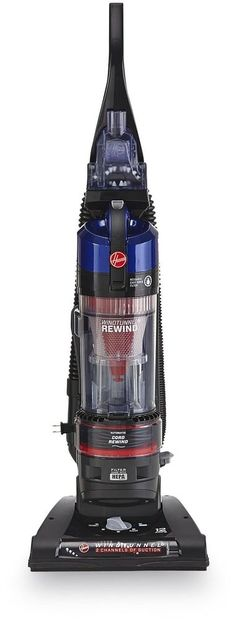 Hoover lightweight powerful WindTunnel Rewind Bagless Upright Vacuum #Hoover