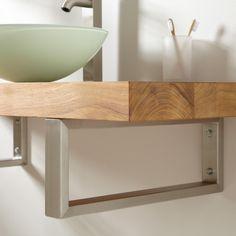 Floating Sink Storage | Bathroom | Pinterest | Floating Cabinets, Vessel  Sink And Powder Room