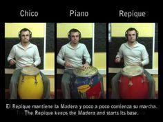 Breve y sencilla secuencia utilizando los Tambores de Candombe.