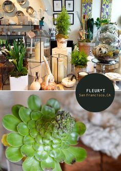 Fleur*T: Not your typical floral shop, offering a selection of beautiful gifts, jewelry and home accessories as well.