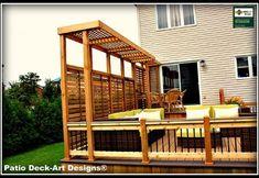 PATIO DECK-ART DESIGNS OUTDOOR LIVING modern patio