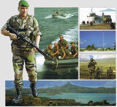 images de la légion étrangère | Die Fremdenlegion - Détachement de Légion Etrangère de Mayotte