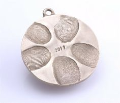 Another salt dough jewelry idea. Great idea for mother's day! Love the thumb prints.