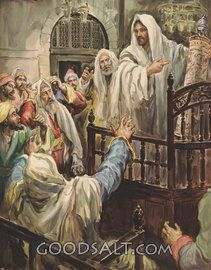 Jesus in the Synagogue at Nazareth