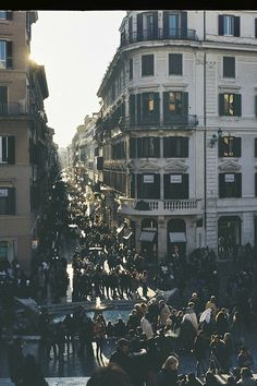 Roma, Italy / photo by Rafael Spinola, view from the Spanish Steps, can't wait to go back!!