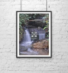 #1066 #CNTRY #ten #sixty #six #county #print #design #photograph #photography #photographic #woods #wood #land #art #Ash #Allwood #gray #green #brown #trees #park #water #rocks #falls #nature #branded #colour