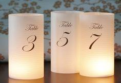 WDW (WEDDING DAY WEEKLY ) BLOGGING FOR BRIDES: DIY Luminaries
