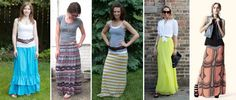 How to Style a Maxi Skirt - Musings of a Housewife