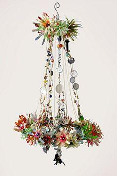 Floral Burst Chandelier, Citrus | Anthropologie.eu